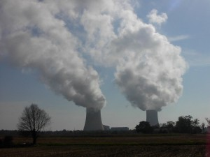 cheminées centrales nucléaires