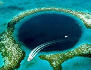 Le fameux Blue lagoon de Belize