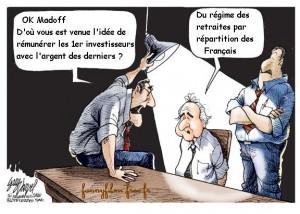 le système de retraite français a inspiré Madoff