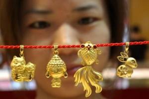 L'or et la Chine