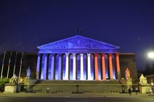 assemblée nationale facade