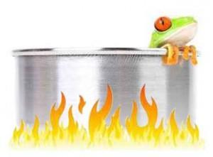 Les socialistes ont adopté le principe de la grenouille dans l'eau chaude