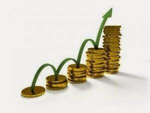 pièces augmentation progression dividendes