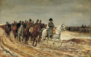 retraite de russie Napoléon