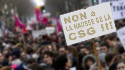 hausse de la CSG sur les retraites