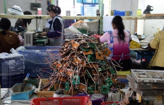 production industrielle en CHine