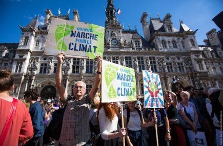 évolution climatique marche pour le climat